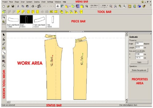 Cad Fashion Design Software For Pattern Design Grading And Nesting